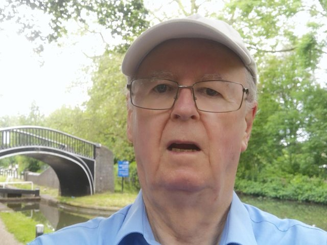 Cllr John Howson has enjoyed walking during lockdowns and now plans a 26-mile trek to Banbury from Oxford