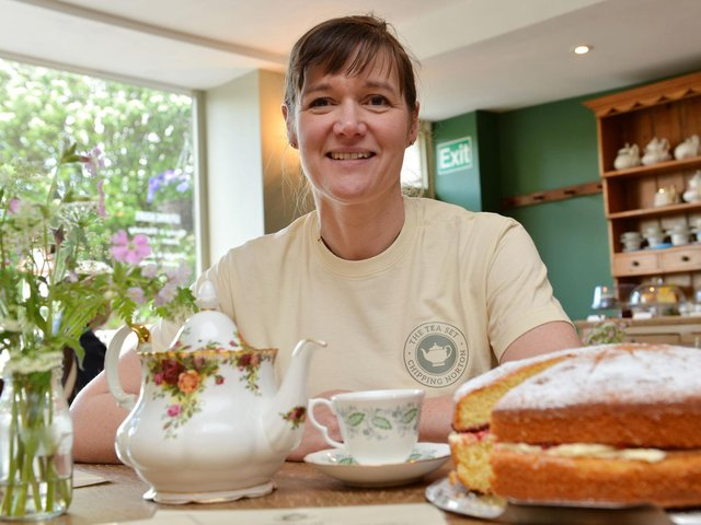 Visitors to The Tea Set tea rooms in Chipping Norton can use their LoyalFree card to earn rewards and help local business
