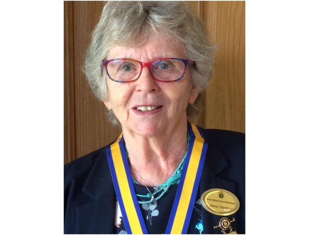 Jenny Gardiner was installed as the new president of the Inner Wheel Club of Banbury on Wednesday July 7 at Banbury Cricket Club.
