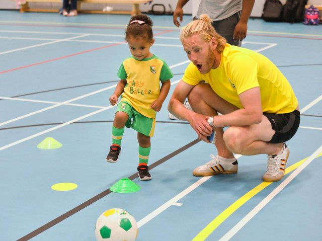 New Banbury area baby and toddler football club - BabyBallers - launches this week (Submitted photo)