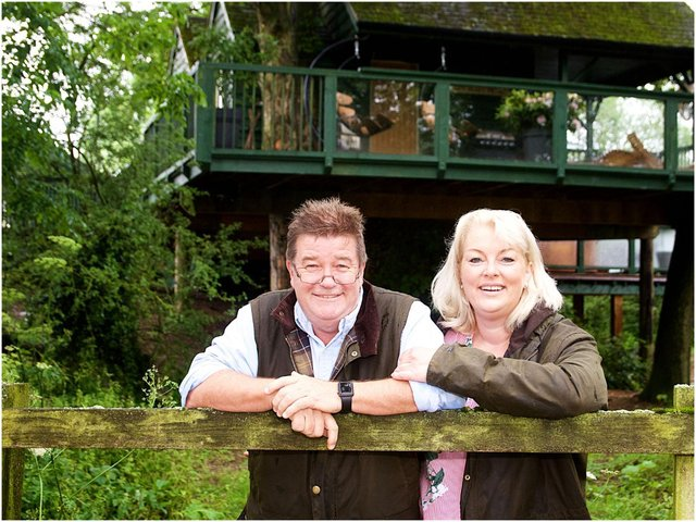 Owners Steve Taylor and Jo Carroll Smaller. Photo by David Fawbert Photography