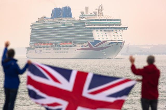 Beautiful Britannia back where she belongs.