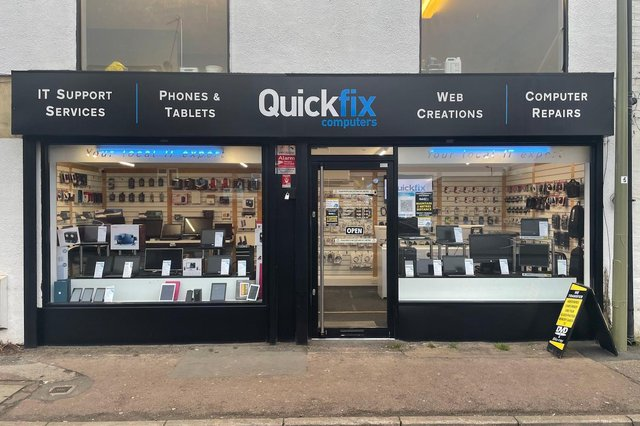 Quickfix Computers repair service covers all brands at very affordable prices.